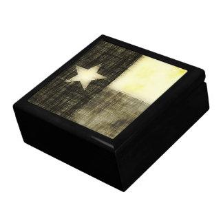 TEXAS FLAG OLD DRAWING GIFT BOX
