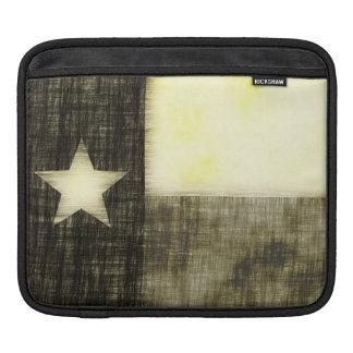 TEXAS FLAG OLD DRAWING iPad SLEEVE