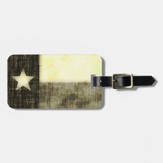 TEXAS FLAG OLD DRAWING TAGS FOR BAGS