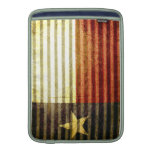 Texas Flag Old Tin Roof gear Sleeves For MacBook Air