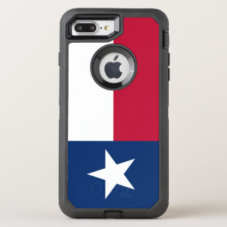 Texas Flag Otterbox defender Iphone 7 Plus Case