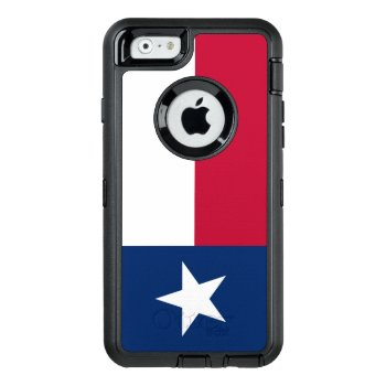 Texas Flag Otterbox Defender Iphone Case by PedroVale at Zazzle