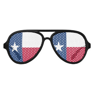 Texas flag party shades | Texan costume glasses