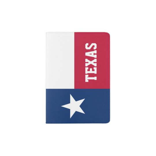 Texas Flag Passport Holder Texan Pride Zazzlecom