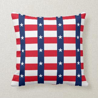 TEXAS Flag Pattern Throw Pillow
