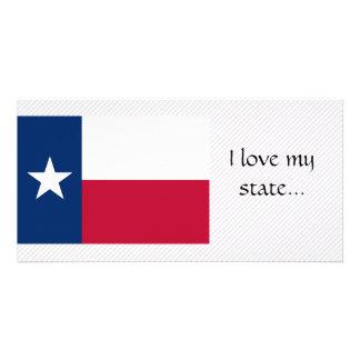 Texas Flag Photo Card
