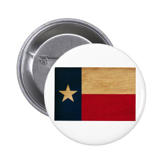 Texas Flag Pinback Button