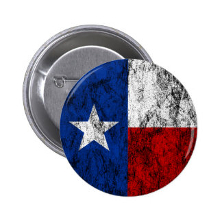 texas flag pinback button