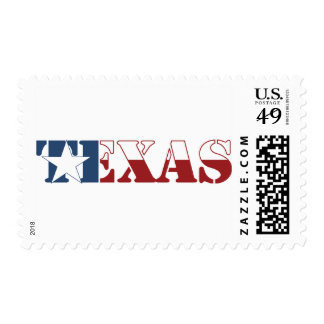 Texas flag postage stamps
