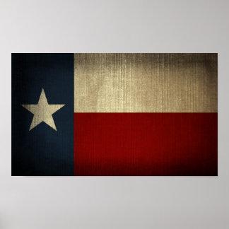 Texas Flag Poster
