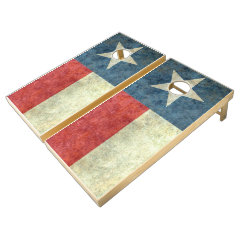 Texas flag retro game set