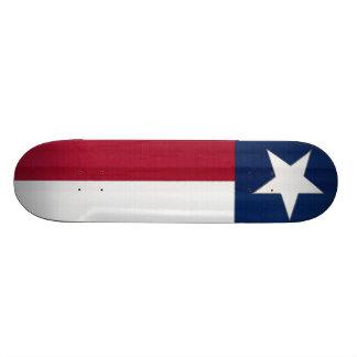 Texas Flag Skateboard Deck