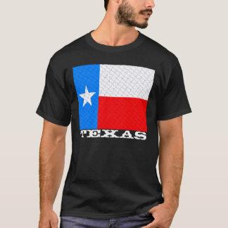 Texas Flag State Map Tessellation T-Shirt