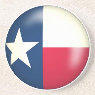 Texas Flag Stone Coaster