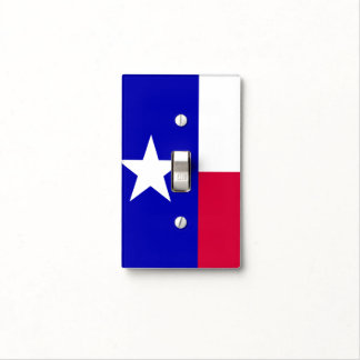 Texas Flag Switch Cover