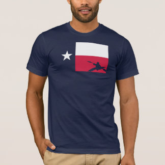 Texas Flag T-Shirt - Kayak