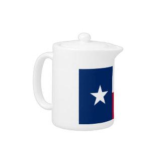 Texas Flag Teapot