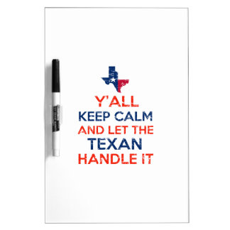 Texas Flag tees Dry-Erase Board