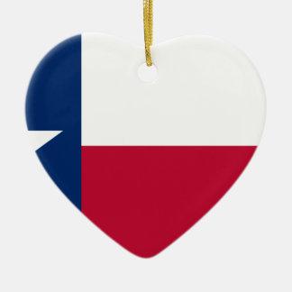 Texas Flag - Texan Pride Ceramic Ornament