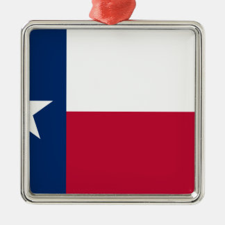 Texas Flag - Texan Pride Metal Ornament