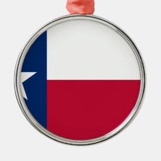 Texas Flag - Texan Pride Metal Ornament
