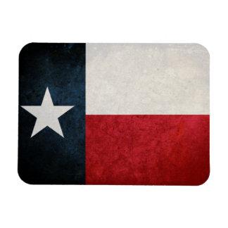 Texas Flag; Texan; Rectangular Photo Magnet