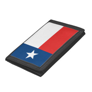 Texas Flag Tri-fold Wallet