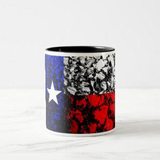 Texas Flag Two-Tone Coffee Mug