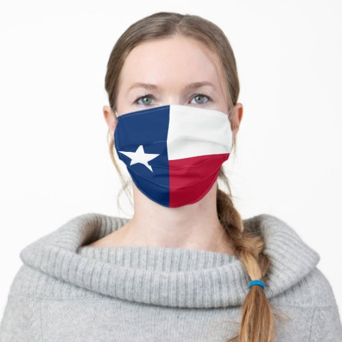 Texas Flag Unisex Cloth Face Mask