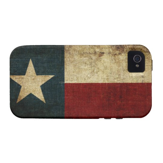 Texas Flag Vibe iPhone 4 Case