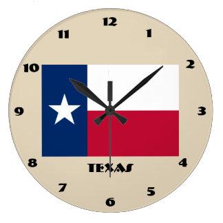Texas Flag Wall Clock