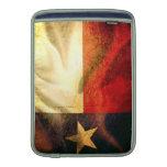 Texas Flag waving silk Sleeves For MacBook Air