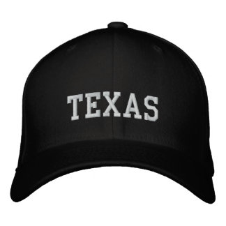 Texas Flexfit Wool Cap Carolina Black