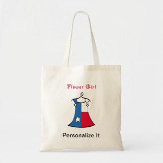 Texas Flower Girl Tote Bag
