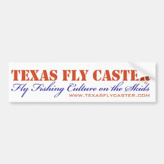 Texas Fly Caster Bummer Sticker