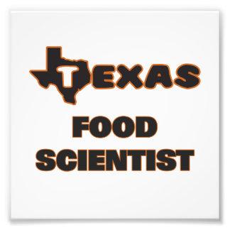 Texas Food Scientist Photo Print