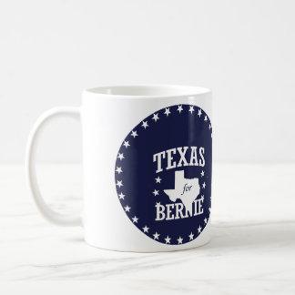TEXAS FOR BERNIE SANDERS COFFEE MUG