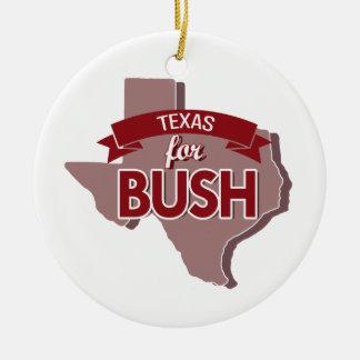 TEXAS FOR BUSH -.png Ornament