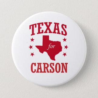 TEXAS FOR CARSON PINBACK BUTTON