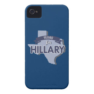 TEXAS FOR HILLARY iPhone 4 Case-Mate CASE