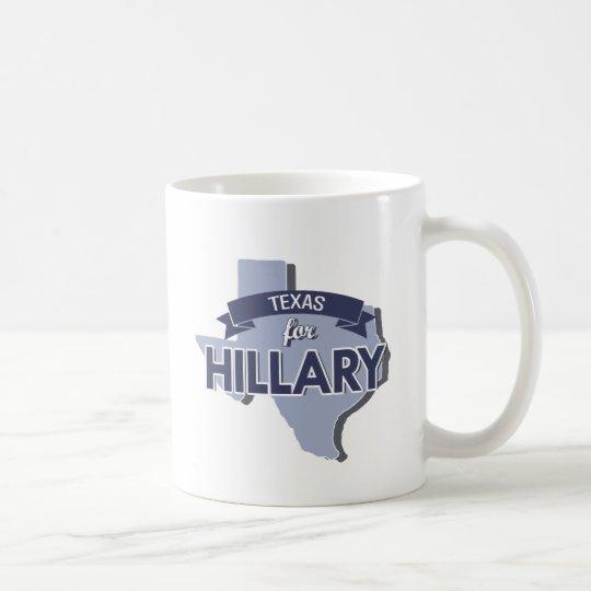 TEXAS FOR HILLARY -.png Coffee Mug