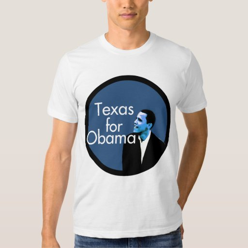 Texas for Obama Blue T-Shirt