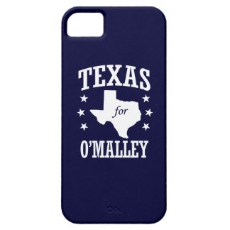TEXAS FOR O'MALLEY iPhone 5 COVERS