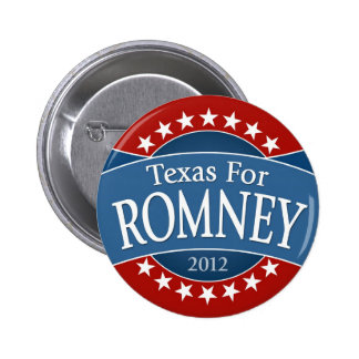 Texas for Romney Button