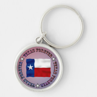TEXAS FOREVER Circle Design - Mult_Products Keychain