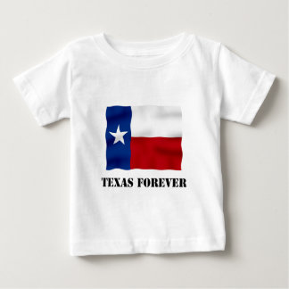 TEXAS FOREVER - Flag Text - Multi_Products Baby T-Shirt