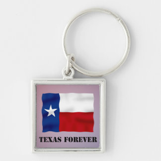 TEXAS FOREVER - Flag Text - Multi_Products Keychain