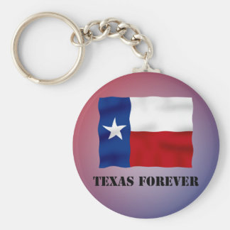 TEXAS FOREVER - Flag Text - Multi_Products Key Chains
