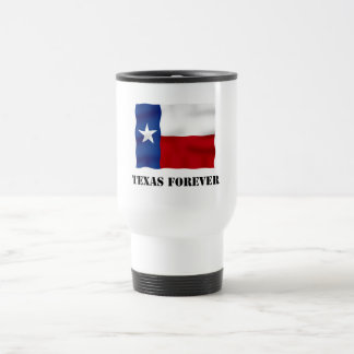 TEXAS FOREVER - Flag Text - Multi_Products Travel Mug