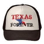 TEXAS FOREVER TRUCKER TRUCKER HAT